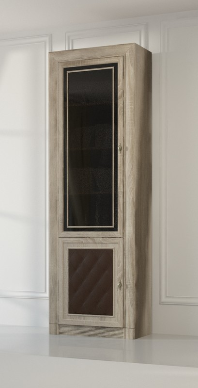 Изд. №204М шкаф-витрина для книг 2-х дверный (МК 51)
