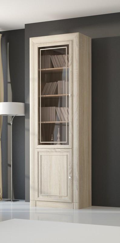 Изд. №204 шкаф-витрина для книг 2-х дверный (МК 51)