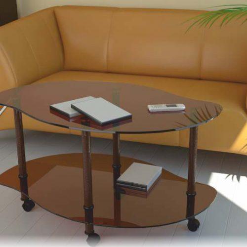 Журнальные столы ИЗ СТЕКЛА (Линия Мебели)