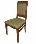 Стулья деревянные с текстильной и кожаной обивкой(Линия мебели)