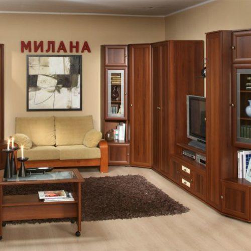 Модульная гостиная Милана (Глазов)