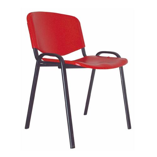"""Кресло для посетителей """"Изо/черный/пл"""""""