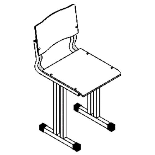 """Ученический стул """"СН-6"""" (Альтерна)"""