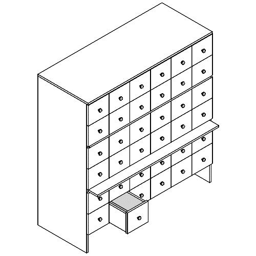 """Шкафы картотечные """"ШдК-36"""" (Альтерна)"""