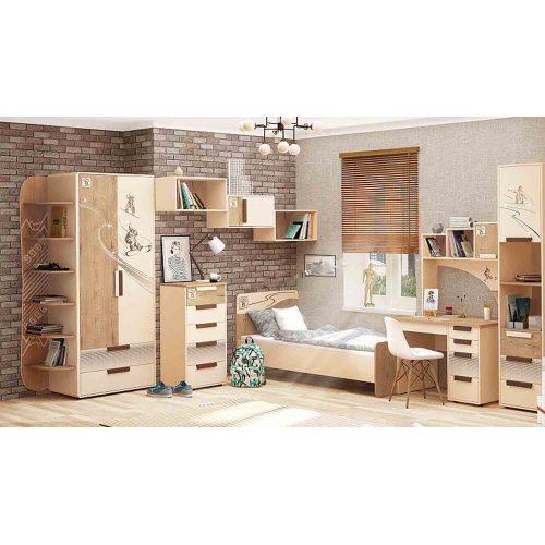 """Подростковый набор мебели """"Фристайл 1"""" (Давита мебель)"""