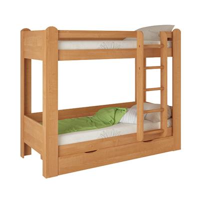 Детская двухъярусная кровать №1 (Корвет)