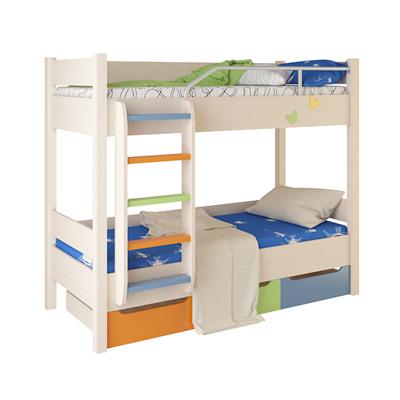 Детская двухъярусная кровать №3 (Корвет)