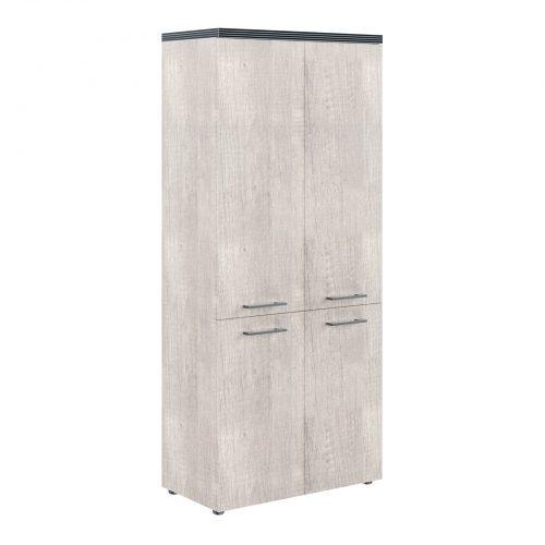 Шкаф с глухими средними и малыми дверьми THC 85.3