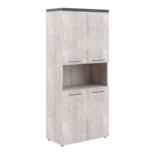 Шкаф с 2мя комплектами малых дверей THC 85.4