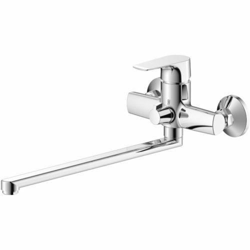 Смеситель OLIVE'S SIERRA для ванны с длинным изливом 350 мм 14221SR