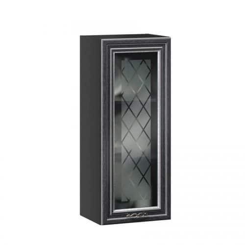 Шкаф кухонный 500 высокий со стеклом Италия (Любимый дом)