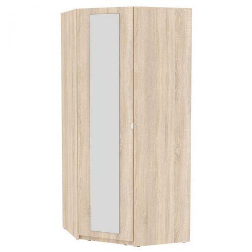 Угловой шкаф с зеркалом YR-230х1034-M